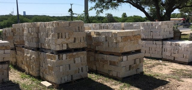 Building Stone Selection - Texas Soil and Stone San Antonio
