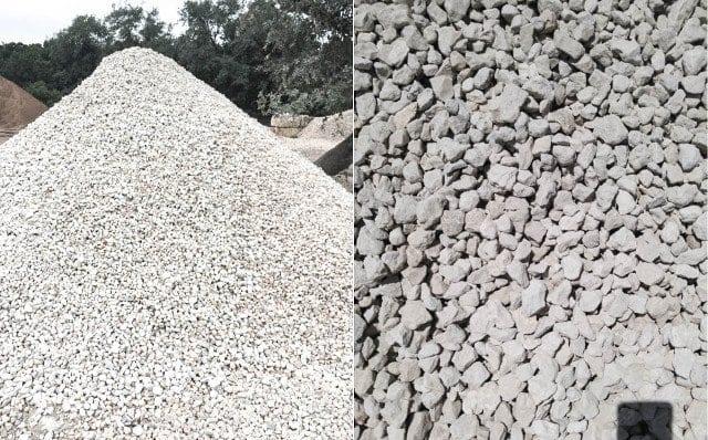 Crushed Washed Limestone - Texas Soil and Stone San Antonio