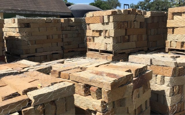 San Saba Chop Block - Texas Soil and Stone San Antonio